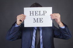 Help me Stock Foto's