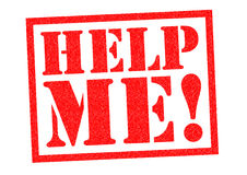 Help me! vector illustratie