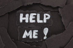 Help Me! Stock Image