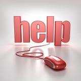 Help online Stock Photography