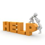 Help Royalty Free Stock Photos