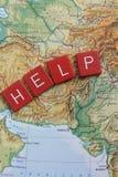 Help Pakistan Download = Donation Stock Images