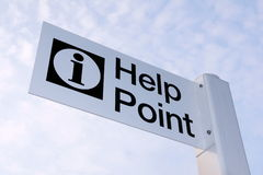 Help Point Stock Photos
