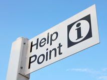 Help Point Sign Stock Image