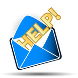 Help symbol Royalty Free Stock Photo