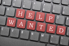 Help wanted stock illustration