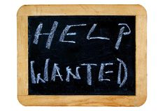 Help Wanted Stock Image