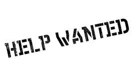 Help wanted stamp Royalty Free Stock Photography