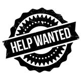 Help wanted stamp Royalty Free Stock Images