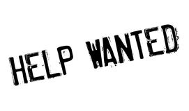 Help wanted stamp Stock Images