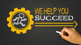 we help you succeed Stock Images