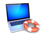 Help your computer! Stock Images