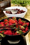 Help Yourself to Strawberries Stock Photo