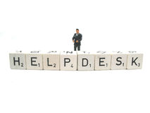 Helpdesk Royalty Free Stock Photo