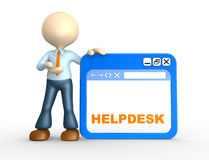 Helpdesk Royalty Free Stock Photography