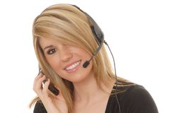 Helpdesk Girl 234 Royalty Free Stock Image