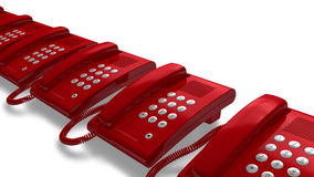 Helpdesk hotline concept stock video