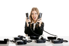 Helpdesk line Royalty Free Stock Photo