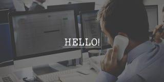 Helpdesk poparcia FAQ operatora Ewidencyjny pojęcie Fotografia Royalty Free