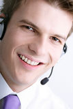 Helpful operatore Stock Images