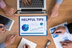 HELPFUL TIPS Stock Photos