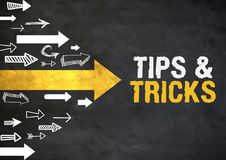Helpful tips and tricks Stock Images