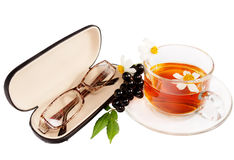 Helpful for vision tea Stock Photography