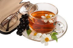 Helpful for vision tea Stock Image