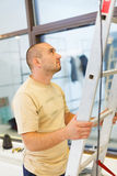 Helping Electrician Stock Image