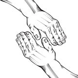 Helping hand. Royalty Free Stock Images