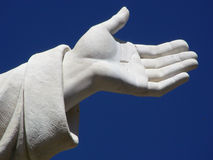 Helping Hand. Outstretched hand offering comfort to those in need Royalty Free Stock Photography