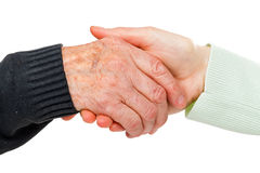 Helping hand Royalty Free Stock Photography