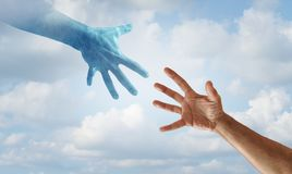 Helping Hand Concept Royalty Free Stock Photo