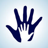 Helping hand. Stock Photo