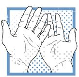 Helping Hands Stock Image