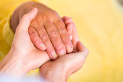 Helping hands Royalty Free Stock Photos