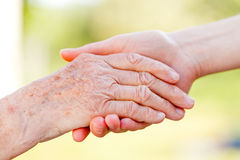 Helping hands Royalty Free Stock Photography