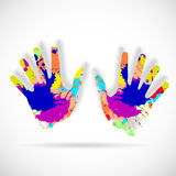 Helping hands Royalty Free Stock Image