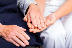 Helping hands Royalty Free Stock Photo