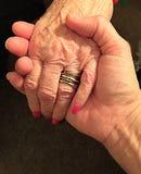 Helping Loving Hand royalty free stock photo
