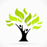 Helping tree Royalty Free Stock Image