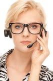 Helpline operator Stock Images