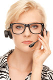 Helpline operator Royalty Free Stock Image