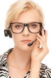 Helpline operator Royalty Free Stock Image