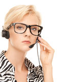 Helpline operator Stock Images