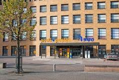 helsínquia finland A estação de correios central Fotografia de Stock Royalty Free