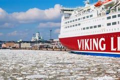 helsínquia finland Vista de Helsínquia Fotografia de Stock