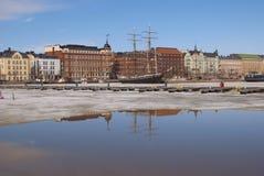Helsínquia. Finlandia Fotos de Stock Royalty Free