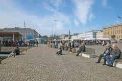Helsínquia. Finlandia Imagens de Stock
