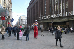 Helsínquia. Finlandia Imagens de Stock Royalty Free